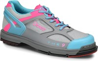 Dexter Womens THE 9 HT Grey/Blue/Pink Bowling Shoes