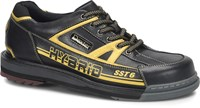 Dexter Mens SST 6 Hybrid Black/Gold Right Hand Wide Width Bowling Shoes