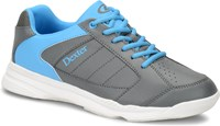 Dexter Mens Ricky IV Jr. Grey/Blue Bowling Shoes