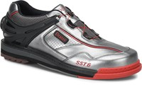 Dexter Mens SST 6 Hybrid BOA Grey/Black/Red Right Hand Wide Width Bowling Shoes