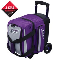 Columbia Icon Single Roller Purple/Silver Bowling Bags