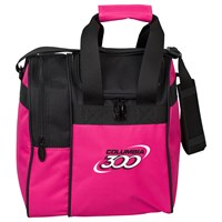 Columbia Team C300 Single Tote Pink/Black Bowling Bags