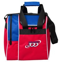 Columbia Team C300 Single Tote Red/White/Blue Bowling Bags