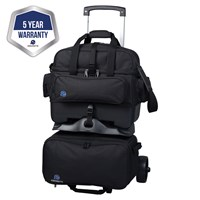 Ebonite Transport 4 Ball Roller Black Bowling Bags