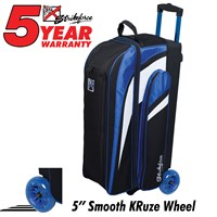 KR Strikeforce Cruiser Smooth Triple Roller Royal Bowling Bags