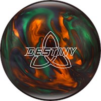 Ebonite Destiny Pearl Green/Orange/Smoke Bowling Balls