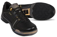 Hammer Mens Boss Black/Gold Right or Left Hand Wide Bowling Shoes