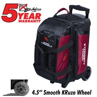KR Strikeforce NFL Double Roller Arizona Cardinals Bowling Bags