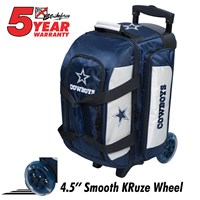 KR Strikeforce NFL Double Roller Dallas Cowboys Bowling Bags