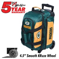 KR Strikeforce NFL Double Roller Green Bay Packers Bowling Bags