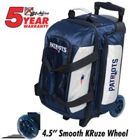 KR Strikeforce NFL Double Roller New England Patriots Bowling Bags