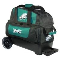 KR Strikeforce NFL Double Roller Philadelphia Eagles Bowling Bags