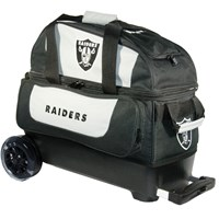 KR Strikeforce NFL Double Roller Oakland Raiders Bowling Bags
