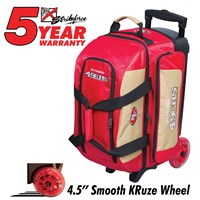 KR Strikeforce NFL Double Roller San Francisco 49ers Bowling Bags