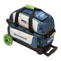 KR Strikeforce NFL Double Roller Seattle Seahawks Bowling Bags