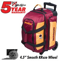 KR Strikeforce NFL Double Roller Washington Redskins Bowling Bags