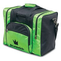 Brunswick Edge Single Tote Lime Bowling Bags