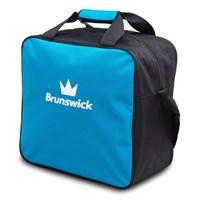 Brunswick TZone Single Tote Blue Wave Bowling Bags