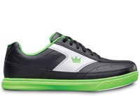 Brunswick Youth Renegade Black/Neon Green Bowling Shoes