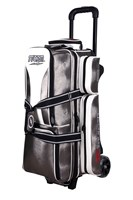 Storm Rolling Thunder 3 Ball Roller Signature Platinum Bowling Bags