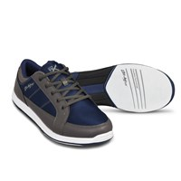 KR Strikeforce Mens Spartan Grey/Navy Bowling Shoes