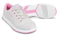 KR Strikeforce Womens Chill Light Grey/Pink Bowling Shoes
