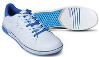 KR Strikeforce Youth Gem White/Blue Bowling Shoes