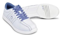 KR Strikeforce Womens O.P.P. White/Periwinkle Bowling Shoes