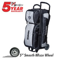 KR Strikeforce NFL Triple Roller Raiders Bowling Bags