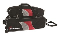 900Global 3 Ball Deluxe Airline Roller Bowling Bags