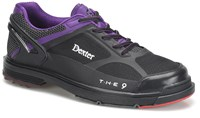 Dexter Mens THE 9 HT LE Black/Purple Right Hand or Left Hand Bowling Shoes