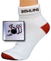 Master Ladies Bowling Pin Strike Socks Main Image