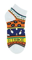 Master Ladies Bowling Theme Socks