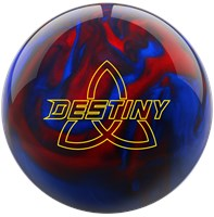 Ebonite Destiny Pearl Black/Red/Blue Bowling Balls