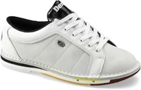 Dexter Womens SST White Buck Leather Left Hand Bowling Shoes