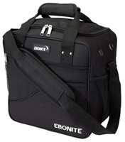 Ebonite Basic Single Black Bowling Bags