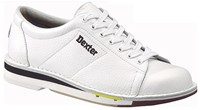 Dexter Mens SST 1 White Leather Left Hand Bowling Shoes