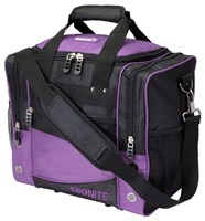 Ebonite Impact Single Purple/Black Bowling Bags