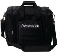 Brunswick Flash Single Tote Black Bowling Bags
