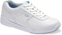 Dexter Raquel III Jr. White/Blue Bowling Shoes