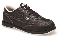 Dexter Mens Turbo II Black Wide Width Bowling Shoes