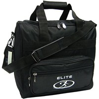 Elite Impression Single Tote Black Bowling Bags