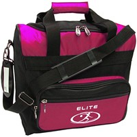 Elite Impression Single Tote Pink/Black Bowling Bags