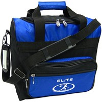 Elite Impression Single Tote Blue/Black Bowling Bags