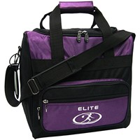 Elite Impression Single Tote Purple/Black Bowling Bags