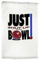 Just Shut-Up Bowl Towel Main Image