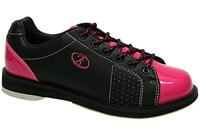 Elite Womens Athena Black/Pink Bowling Shoes