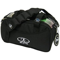 Elite 2 Go Tote Clear Black Bowling Bags