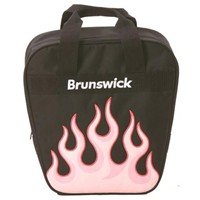 Brunswick Dyno Single Pink Flame Inferno Bowling Bags