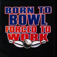 Born to Bowl Towel